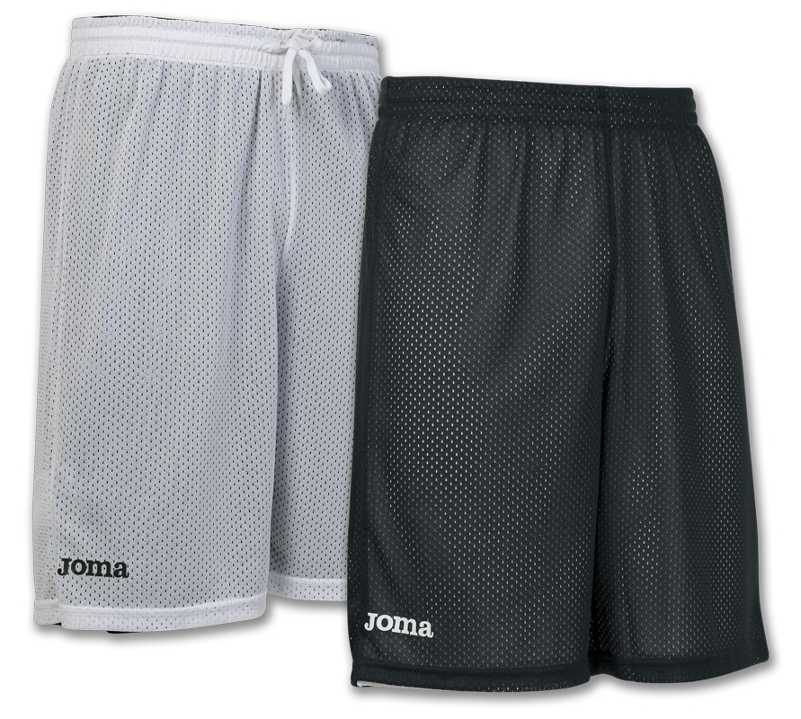 Joma Rookie 100529.100 Pantaloncini da Basket reversibile