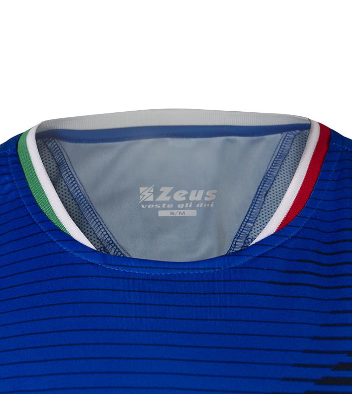 Zeus Kit Mundial Completino Calcio Colori Nomi Squadre Mondiali Italia L//XL, Royal-Bianco