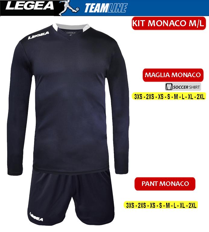 completo calcio AS Monaco originale