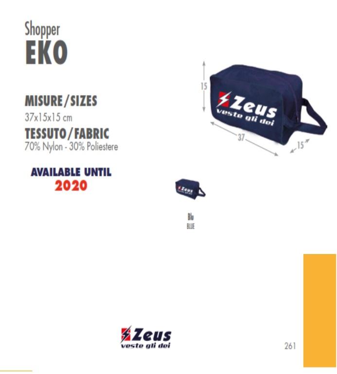 Eko Shopper Porta Scarpe Borsa Zeus PXOkZui