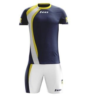 Modello Team Set Completo di Pantaloni e t-Shirt Spagna EKEKO Italia Equipacion di Calcio per Bambini