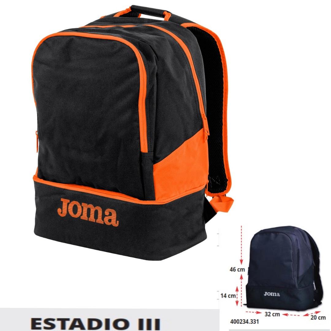 79475bee31 Joma - Zaino Estadio 3 con fondo portascarpe