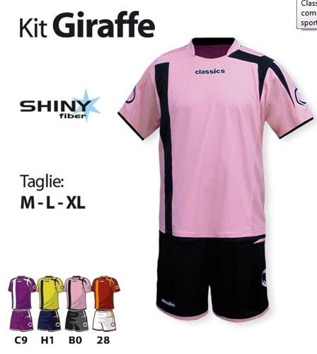 Classics - Completo Calcio Kit Giraffe