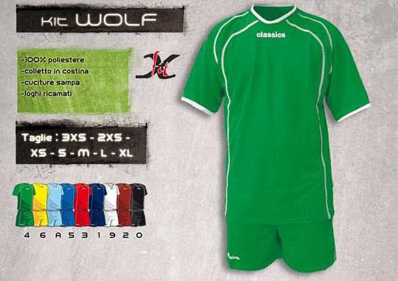 Classics - Kit Completo Calcio Wolf