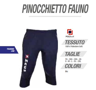 the latest 1093d e1b06 Zeus - Uomo Donna Bambino Pinocchietto Fauno