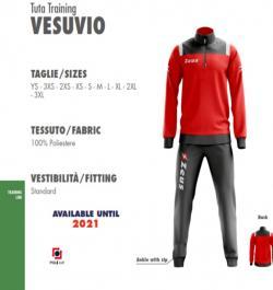 87e364e50fbea Giubbotto Zues Vesuvio - Piumino sportivo personalizzabile