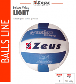 Zeus-Pallone_Volley_Light
