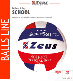 Zeus-Pallone_Volley_School