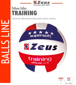 Zeus-Pallone_Volley_Training