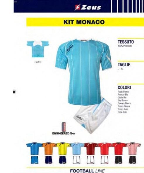Allenamento AS Monaco completini
